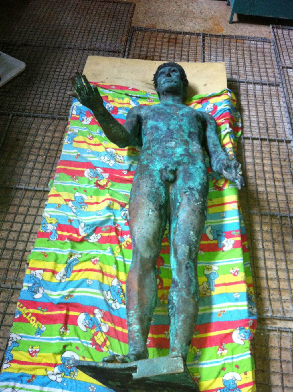 1500 Year Old Greek Statue Found in Mediterranean Sea (thn87, eBay).