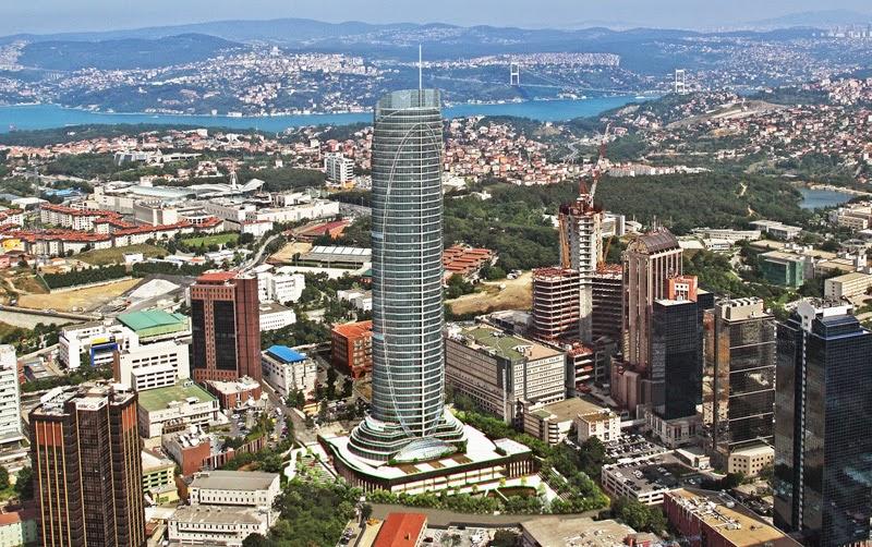 Soma Holdings' Spine, Istanbul, Turkey (via Ümit Akçay, Kriz Notları, 14 Mayıs 2014)