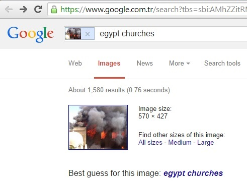 Google's best guess for this image: Egypt churches (8th September 2014)