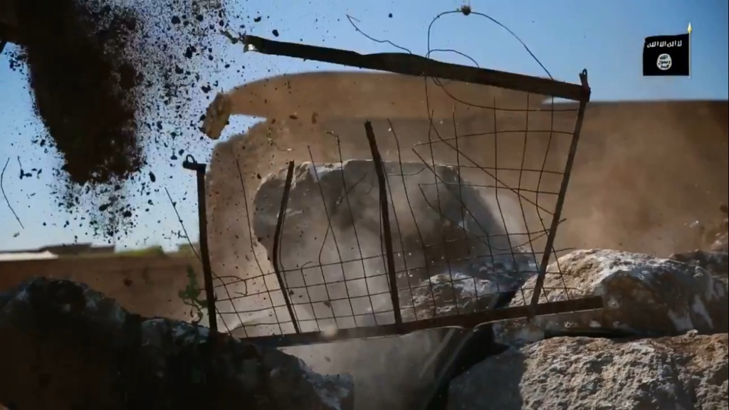 Islamic State attack on Nimrud (video release: 11th April 2015 - 00h05m02s)