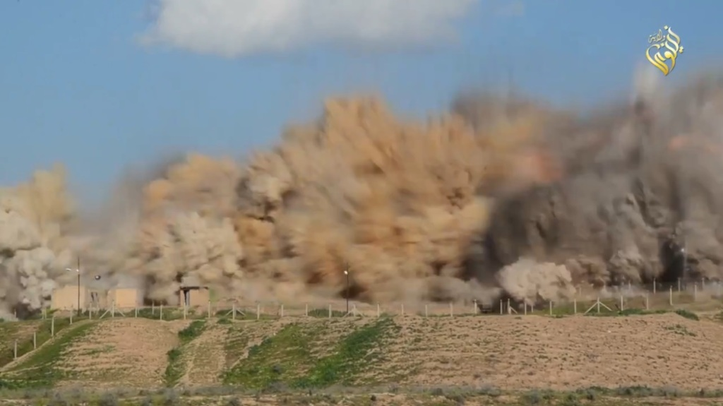 Islamic State attack on Nimrud (video release: 11th April 2015 - 00h06m16s b)
