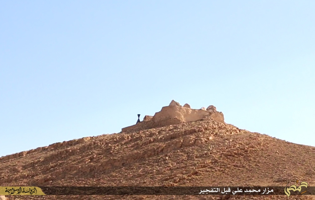 Photographer's report: Removal of the landmarks of polytheism in the city of Palmyra (Islamic State, 22nd June 2015 b)