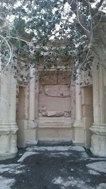 Preparation for blowing up Bel Temple (c) Palmyra News Updates, Facebook, 20th June 2015