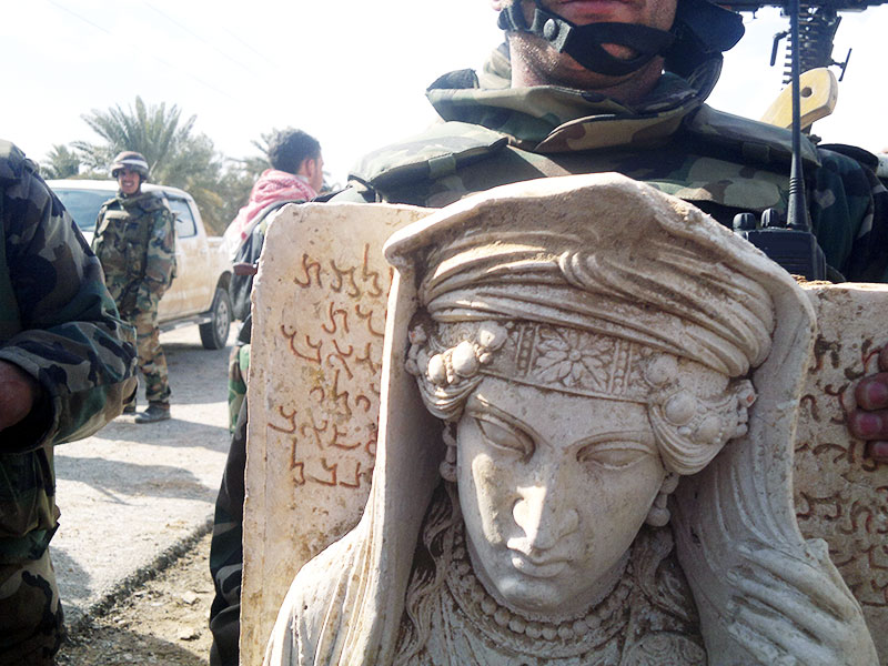 Destruction of Palmyra's historical monuments (c) UNESCO, by 12th March 2014 (a)