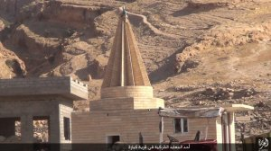 Islamic State destruction of temple, Kabara, Sinjar, al-Jazirah, Iraq (2015, 15.08.26 n)