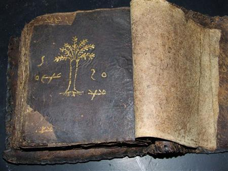 'Ancient' Syriac bible found in Cyprus (c) Sarah Ktisti and Simon Bahceli, Reuters, 6th February 2009