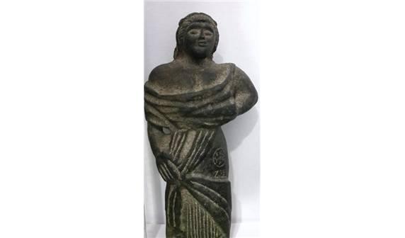 Suriye'deki Palmira'dan kaçırılan eserler Elazığ'da bulundu (İhlas Haber Ajansı, 24 Kasım 2015 a)