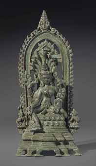 An important bronze figure of the goddess Manasa. The Lahiri Collection: Indian and Himalayan Art, Ancient and Modern, Lot 58, Sale 12255, Christie's, New York, USA, 15th March 2016.
