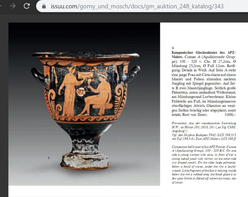 Gorny und Mosch, 2017, Greece Germany illicit antiquities trade market 170630 26